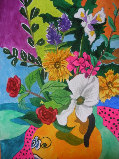 Fine Art Irene Dogmatic Floral Paintings